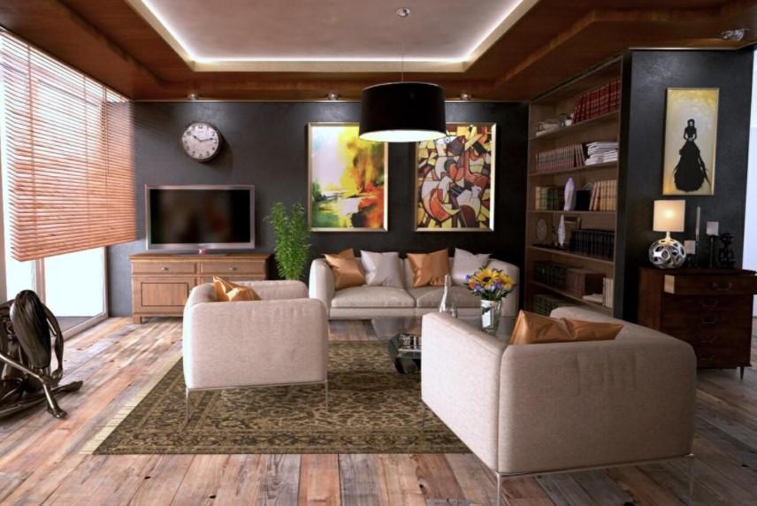 7 Tips Styling Untuk Ruang Tamu Ukuran Besar